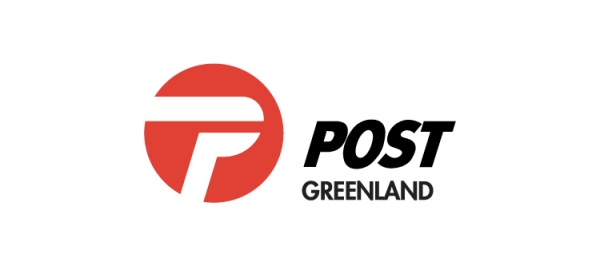 Greenland post LOGO vector material